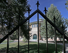 Old Main, Southern Utah University (Bob Palin) Tags: 15fav usa canon utah oldmain ironcounty cedarcity club100 instantfave canonef24105mmf4lisusm southernutahuniversity suucampus orig:file=2015040500757adjustcrop1024