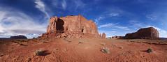 Monument Valley Panorama (BongoInc) Tags: arizona southwest utah desert monumentvalley greatbasindesert