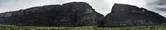 Mesa de Anguila and Santa Elena Canyon, Big Bend Natonal Park
