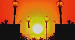 Globos solares (jerodamor@yahoo.com.mx) Tags: sol ocasos torren