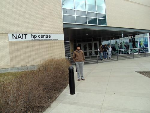 Director Mr. G.S.Kang in NAIT, Edmonton Canada