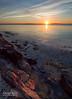 Sunrise, West Penobscot Bay, Camden, Maine (43869-43871) (John Bald) Tags: morning sky rock sunrise dawn camden horizon maine shore granite coastline risingsun daybreak penobscotbay islesboro wispycloud westpenobscotbay jobsisland jobisland