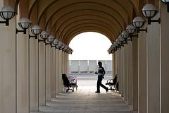 (Hdpsp) Tags: architecture uae abudhabi arabia souk colonnade