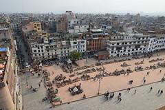 Kathmandu as seen from the Basantapur Tower