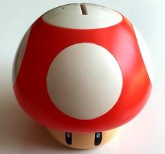Super Mario - Mushroom (FrivolousSpending.co.uk) Tags: mushroom mushrooms nintendo mario videogames gaming supermario mariobrothers supermushroom