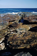 Coast of WA (Stefan Ulrich Fischer) Tags: travel nature 35mm outdoor oz australia slide scanned coastline analogue westernaustralia downunder kodakektachrome minoltaxd7