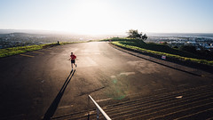 Mt. Eden Summit, Auckland (kllauphotograph.com) Tags: newzealand nz sony a7 travel voigtlander 15mm 15mmiii wide auckland mtedensummit eden hiking running sunset decisive