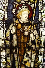 Edinburgh Castle (richardr) Tags: edinburghcastle kempe stainedglass angel glass window scotland scottish edinburgh britain british greatbritain uk unitedkingdom europe european history heritage historic old victorian victoriana 19thcentury nineteenthcentury