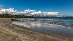 A Tofino Beach (murph le (Away)) Tags: tofino beach britishcolumbia sand ocean waves summer reflections clouds canon6d canada cans2s
