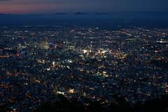 moiwa_03 (suzumi3) Tags: view mtmoiwa night landscape sapporo japan hokkaido