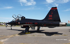 160410_03_64240T38 (AgentADQ) Tags: gateway florida air show lake city 2016 airshow airplane us force jet t38a talon 9th wing beale base
