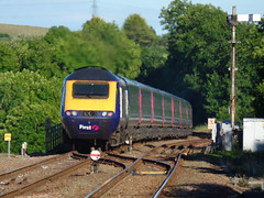 43139 Liskeard (3) (Marky7890) Tags: fgw gwr 43139 class43 hst 1a98 liskeard railway station cornwall train