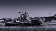 Baltimore Harbor (slimjim340) Tags: baltimore locustpoint harbor sunrise river patapsco maryland tugboat