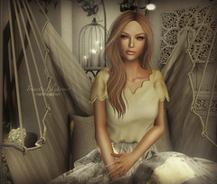 { As time goes on... } close (Trinetty Skytower) Tags: sl secondlife avatar digital virtual pose photography home decor style fashion shinyshabby theseasonsstory hive bazar amiable entwined genesislab drd