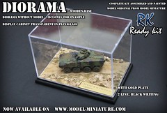 Diorama with display cabinet transparent in plexiglass (Model-Miniature / Military-Photo-Report) Tags: scale painted models vab mounted ready kit saad 13 diorama militaire 172 vitrine 120mm maquette transparente chelle t20 talha mortier auf1 t2013 qaswa alqaswa
