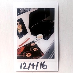 Nights in with the Beatles (franhinchliffe) Tags: analogue recordcollection vinyl thebeatles instaxmini90 fujifilminstaxmini90 fujifilminstax fujifilm polaroids polaroid filmphotography photography film