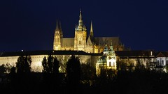 The spirits of the night (m_artijn) Tags: church dark lights shadows prague cathedral atmosphere most cz legii