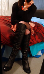 some more for today (bladeprincess) Tags: transgender tgirl tgurl tg ts shemale tranny transvestite model highheels hot stilettos nylon hosiery hose stockings crossdressing crossdresser outfit dressed dressingup body corset waist legs skinny slim belt transgendered submissive ladyboy sissy drag feminine pretty cute gurl sexy skirt miniskirt shortskirt boots pantyhose dress camera selfie mirror posing ootd outfitoftheday longlegs wardrobe fashion haul
