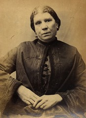 Harriet Davison, convicted of stealing money (Tyne & Wear Archives & Museums) Tags: victorian criminals crime villains prisoners newcastleupontyne gaol tyneside northeastengland 1873 photography jail female laundress stealing theft hull woman historic interesting unusual