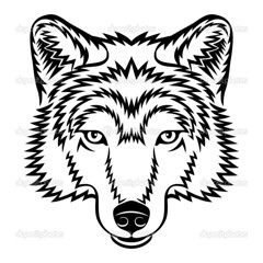 Wolf head (brandmilaline) Tags: animals wolf vector head gray illustration painting snout sign black danger canine wild wildlife cruel hairy shaggy mammal tattoo sharp aggression symbol insignia dark eyes front face mane nature simplicity mascot dog howling