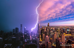 (7.13.16)-360_Rainbow_Storm-WEB-21 (ChiPhotoGuy) Tags: chicago storm weather skyline lightning rainbow cityscape epic clouds cloudporn 360chicago johnhancock hancock observationdeck rooftop stormy wx skyporn