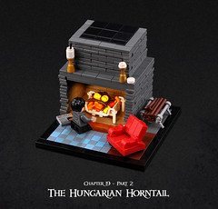 Harry Potter and the Goblet of Fire 14 (Xenomurphy) Tags: lego moc bricks harrypotter gobletoffire rowling muggle magic weasley hermione malfoy voldemort hogwarts hogsmeade slytherin hufflepuff gryffindor ravenclaw quidditch