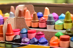Which one would you choose? (slammerking) Tags: crayons crayon crayola colors coloring colorfull