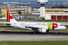 TAP Air Portugal A319-100 CS-TTS (birrlad) Tags: lisbon lis international airport portugal aircraft aviation airplane airplanes airline airliner airlines airways approach arrival arriving finals landing landed runway airportugal airbus a319 a319112 cstts panning tap
