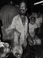 A bengali man spreading incense smoke in the shops to wish the owners good luck early in the morning. (Shafi Uddin1) Tags: incense smoke incensesmoke streetportrait portrait man manportrait smokeman incensesmokeman bangladesh bangladeshiculture streetsofnetrokona netrokonaborobazar netrokona streetsofbangladesh bangladeshstreetphotograph nikkor nikon nikonlens ngc supershot steven jaciii
