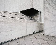 National Theatre (jubalharshaw) Tags: national theatre brutalism brutalist modernist architecture 1950s 1960s london southbank thames pentax 6x7 67 smc takumar portra 400