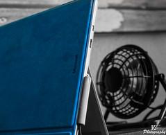 Surface Pro 4 (ZKent.Yousif) Tags: surface pro 4 canon sigma sigma1750mm blue technology computer tablet microsoft blackandwhite bw
