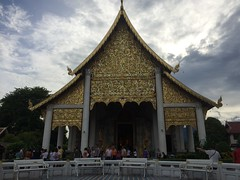 Wat Cheadi Luang Worawihan (cattan2011) Tags: buddhism temple building thailand landscape traveltuesday travel watchediluangworawihan changmai