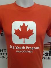 T-shirt printing Vancouver (tshirtprinting.ca) Tags: elslanguagecenters printing custom screenprinting youthinkitweprintit yourowntshirtcompany vancouver youthprograms tshirt