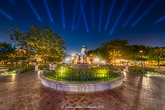 Good Night Walt and Mickey... thank you for the Magic and the Wonder! (Eddison Esteban) Tags: nightphotography night nightshot disneyland disney mickeymouse hdr partners waltdisney bracketed hdratnight nikond810 nikon1424mm highqualityhdr