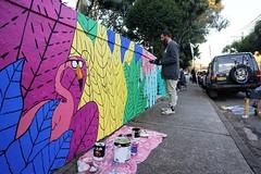 Photo (Mulga The Artist) Tags: mulga artist posca art sydney painting street joel moore cool beards animals