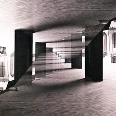 Infinite 7 (Alistair Peck) Tags: infite perspective diagonal convergence converging doubleexposure film canona1 fd analogue oldskool infinite