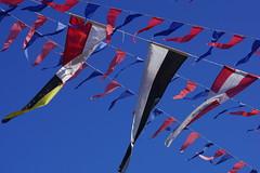 Fanions (marc.fray) Tags: fanions drapeaux fte port lamadrague presquledegiens giens var paca provence ftetraditionnelle vent bndictionenmerdesbateaux flags fhnchen