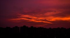 The Land Of Fire. (RahulChandra23) Tags: fire landscape suns sunset popular likes famous world india northindia monsoon clouds street art nikon nikkor camera flickriosapp:filter=nofilter views