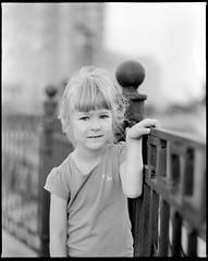 Mariia (sinkalyagas) Tags: kids portrait bokeh summer evening girl film filmnotdead mediumformat mamiya rz67 sekor 120mm ilford hp5