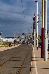 Blackpool tramlines (21mapple) Tags: blackpool sea seaside tram tramlines holiday vacation airshow