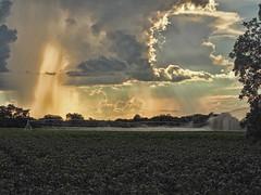 The Heavens Declare (TuthFaree) Tags: elements dramatic rural farm irrigation landscape sunset sky ga georgia swga