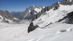 18_Mont-Blanc Panoramic to Helbronnee (Nick Ham100) Tags: chamonix aiguilledumidi utmb