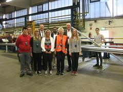 Besuch bei META-Regalbau GmbH & Co. KG