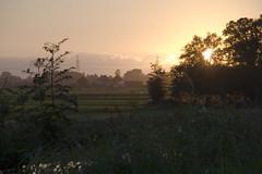Jaagpad (Arend Jan Wonink) Tags: jaagpad reitdiep groningen sunset zonsondergang hardlopen running