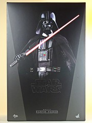 Snap Quick Unboxing  Hot Toys  MMS279  Star Wars  A New Hope  Darth Vader  Box Art (My Toy Museum) Tags: snap quick unboxing hot toys star wars darth vader action figure starwars hottoys darthvader