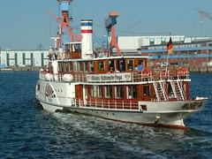 Freya (FrauN.ausD.) Tags: dampfschiff historisch kiel steamboat ostsee schleswig holstein deutschland