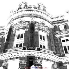 Paris Opera Garnier architecture high contrast (alisonparkdouglas) Tags: travel blackandwhite bw paris france architecture facade highcontrast ornate operahouse operagarnier parisopera travelphotography photobyalisonparkdouglas