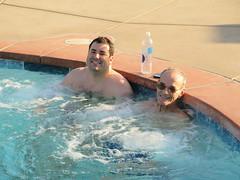 April 14, 2015 (45) (gaymay) Tags: california gay love water pool happy desert palmsprings swimmingpool spa triad