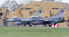 89-0025 92-0024 General Dynamics F16C & D TuAF_MG_9512 (www.jonathan-Irwin-photography.com) Tags: exercise general d warrior airforce dynamics turkish joint raf leeming f16c tuaf 890025 920024