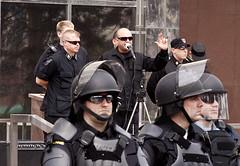 IMG_7088 (Wespennest) Tags: ohio demo spring cops nazi nazis protest police demonstration toledo armor april riotpolice riotcops neonazis nsm bodyarmor jeffschoep nationalsocialistmovement kenkrause